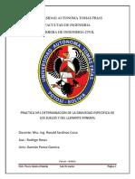 Practica Nº1 Determinacion de La Gravedad Especifica de Los Suelos y Del Llenante Mineral