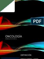 ONCOLOGÍA, Nomenclatura Médica