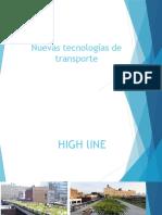 Nuevas TecnologÃ-As de Transporte