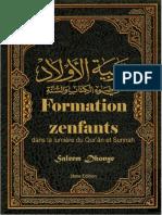 Formation Zenfants Dans La Lumière Quran Et Sunnah