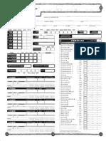 Kit Do Mestre D&D 3.5 Fichas de Personagens
