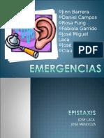 Emergencia en Otorrino del oido