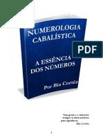 e Book Numerologia Cabalistica a Essencia Dos Numeros