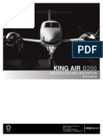 King Air B200 Specification and Description (BB-2016 and on)