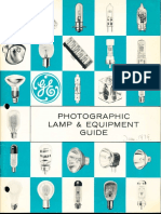 GE Photographic Lamp Guide 1979