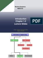 Lecture Part 1 machine dynamic