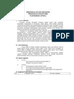 Kerangka Acuan Penanggulangan DBD