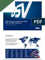 2- CMD Presentation DSV Business Model and Strategy FINA