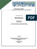 microfinance 16aug05