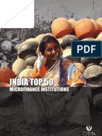 Top 50 Micro Finance Institutions in India by CRISIL