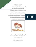 Canciones Del Dia de La Madre Letras