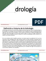 Presentación Hidrologia Postgrados