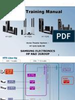 Samsung Ht-q20 q40 q80 Training Manual | Digital Audio