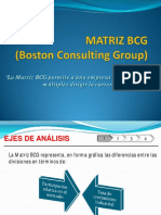 Matriz BCG - Boston Consulting Group