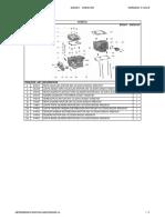 KELLER MX260 KR260GY Manual de Despiece Motor y Chasis