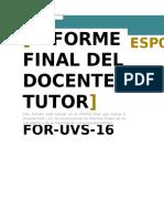 Javier16 Informe Final Tutor
