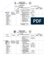 Budget of Work Tle Aa 1 Quarter Sy 2016-2017