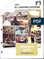 GE Lighting Systems Commercial Lighting Designers Guide 1973