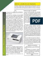 12 Instalación y Prueba de Una Impresora.