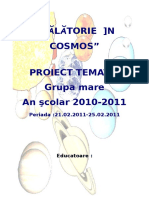 Proiect Tematic Calatorie in Cosmos1