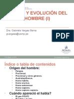 2-Segunda Clase-Origen y Evolucion Del Hombre (i) -10ago2016.Pptx