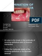 Examination of an Ulcer