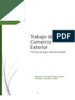 Formas de Pago(Comercio Exterior)