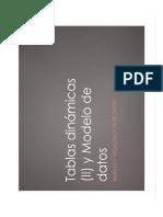 3-Tablas Dinamicas 2 y Modelo de Datos