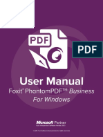 FoxitPhantomPDFBusiness72 Manual