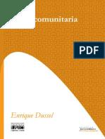 Enrique Dussel Etica Comunitaria PDF
