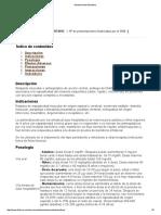 Medicamento Baclofeno 2013
