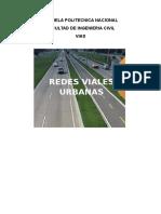 Redes Viales Urbanas