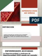 HIPERVISCOSIDAD SERICA