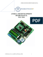 ATMEGA 2560 Development Board