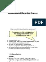 EDS411 - Entrepreneurial Marketing777777777777777