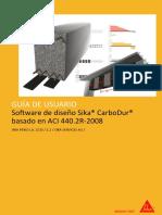02_manual Software Sika Carbodur Aci440 (Sika Peru)