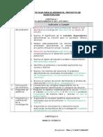 Instrumento de Evaluacion, Proyecto de Investigacion, Upla