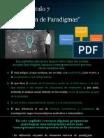 Tema Capítulo 7 Integración de Paradigmas en Ciencias Sociales