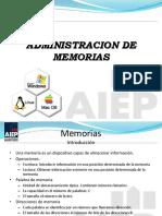 Clase de Memorias