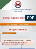 Curso de Energía Geotérmica