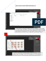 resizing images in batch using adobe photoshop cc