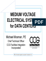 Medium Voltage Electrical Systems for Data Centers