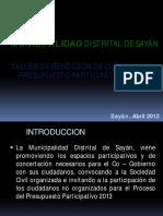 Rendicio de Cuentas 2011concursos
