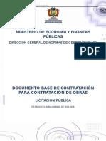 Dbc Para La Contratación de Obras - Lp - Const. Estadium de Atletismo d.6