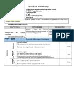 SESION DE COMUNICACION - 2° y 3° -2016