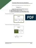 Interest formulas-years