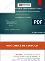 Maniobras de Leopold Presentación