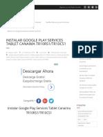 Instalar Google Play Services Tablet Canaima TR10RS1_TR10CS1 - PubliVenezuela Blog