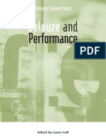Deleuze and Performance 2009