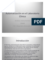 Automatización en El Laboratorio Clínico